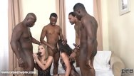 Black men cum shots Double anal double penetration group fuck 4 black men fuck 2 white girls