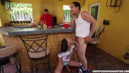 Lusting for my daughters teen friends Holly hendrix has some fun with her dads friend dfmd15108