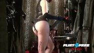 Free redhead webcams - Mistress humiliates slave with bbc strap on bdsm