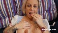 Tatto sex movie - 6-movies com tattooed blond fingering -