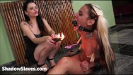 Uk telephone domination Extreme lesbian domination and hot wax punishment of teen latina slave gia