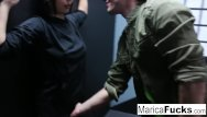 Ninja cum - Master marica teaches ninja student robby the way
