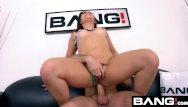 Kimber james fucks a girl Bang casting: kimber woods raw anal pounding