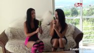 Lesbian cucumber sex videos My dirty hobby - french lesbians cucumber fuck