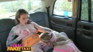 Yovo fake lesbian - Female fake taxi multiple lesbian orgasms for busty welsh tattooed milf