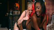 Halloween teen party games When girls play - naughty halloween games with chanell heart and karla kush