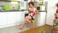 Mature seduction and video galleries - Europemature dana seductive coffee time showoff