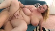 Widerness sex Big boobed bbw uses her body to please a thick cock