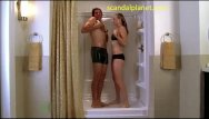 Porn funny archive Yvonne strahovski sex under the shower in chuck series scandalplanetcom