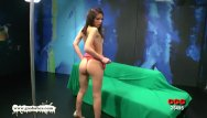 Girl takes bottle up ass - Beautiful skinny babe takes it up the ass - german goo girls