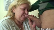 Fat old grandma porn pictures - He picks up huge old grandma for cock riding
