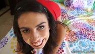 Stunning summer gangbang Two young teens webcam summer gangbang