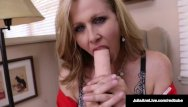 Famous hustler pornstars World famous milf, julia ann in a sweater fucks herself