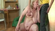 Huge granny tits Huge granny is banged by her son on law
