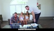 Hypnotic bondage Daughterswap - hot daughters hypnotized by dads