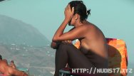 Beach free video voyeur - Sexy amateur hidden beach voyeur video