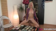 Thick granny ass - Skinny blonde granny riding thick meat