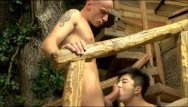 Cock huge stud twinks Asian stud sucking and fucking huge cock
