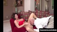 Free movies of brunette milfs - Naughty wife deauxma gets free advice for sex from tax man