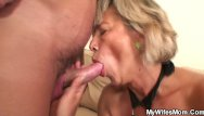 Wife and big tit girlfriend - Girlfriends hot mom agrees riding his horny dick