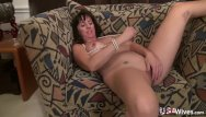 Self licked tit - Usawives fit mature rose self toying masturbation