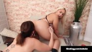Ass her spanked Sexy serb nina kayy gets spanked on her big ass by sara jay