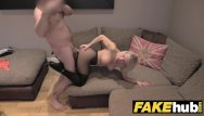 Pussy cum sex shaven - Fake agent uk cute horny milf with shaven pussy sucks and fucks agent
