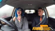 Sex drive the movie Fake driving school anal sex and a facial finish ensures driving test pass