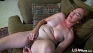 Pussy to pusssy Usawives hairy granny pusssy fucked with sex toy