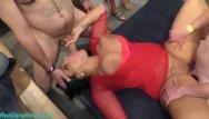 Real free cum shots Gangbang party with busty milf ashley cum star