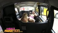 Lesbian sex steamy - Female fake taxi - steamy lesbian pussy licking action in a taxi