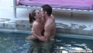 Catalina cruz mpegs cumshots - Tori black making love to hard cock by her pool