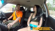 Raquel alessa nude - Fake driving school gamer babes pussy covered in cum after blowjob