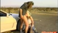 All types of vintage car Hitch hiking blowjobs