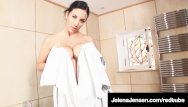 Hottub teen Penthouse pet jelena jensen teases us in a hottub in france