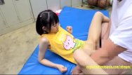 Idol shirtless teen Aya miyazaki jav idol fucked in the gym changing room on the floor