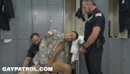 Is felicia law a gay author Gay patrol - aggressive cops take down fake soldier and lay down the law