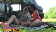 Sweaty shaved pussy Female fake taxi sweaty hot lesbian bushy pussies finger fucked to orgasm
