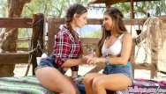 Lesbians cowgirls - Twistys - naughty cowgirls cassidy klein and nina north scissor