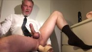 Hot old gay Hot daddy jerking and fucking him self
