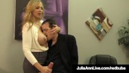 Dick avard - Adult award winner julia ann drains a cock with hot handjob