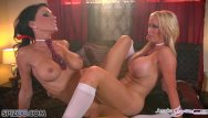 Black lesbian booties Jessica jaymes and nikki fuck each other, big boobs and big booty