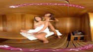 Lesbian porn in a sauna - Vr porn-jaye steaming the sauna with exotic asian ayumi animes hot body
