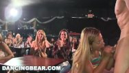 Women sucking cum - Dancing bear - real women, real horny, sucking big dicks in a cfnm party