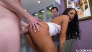 Xxx cuckold movies - She makes her cuckold husband watch to see what a loser he really is