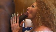 Violence against the transgender youth - Skinny mature pussy against a big black cock