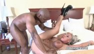 Adult movie interracial Brooke jameson gets nailed with a black cock