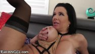 Vaginal le Big titty milf veronica avluv drilled anally and vaginally
