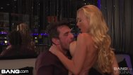 Join gang bang clubs Kayden kross fucking a client in the strip club