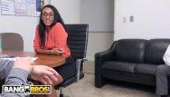 Kierra knightly sex scene Bangbros - behind the scenes with ebony pornstar arianna knight